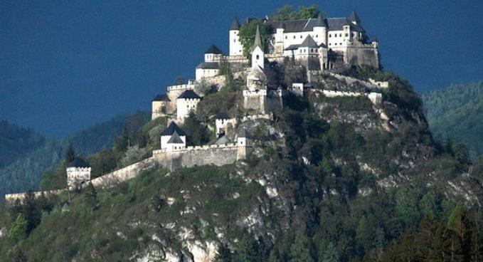 6. Burg Hochosterwitz, Austria