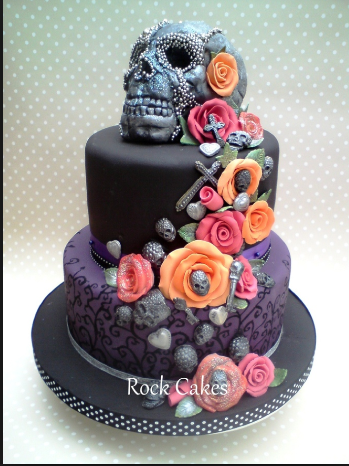 12 Amazing Skull Cakes Which One Is Your Favorite I