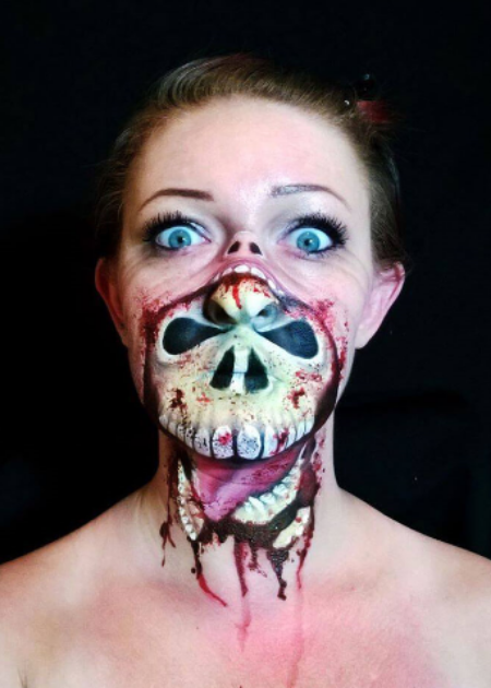This Make-up Artist\'s Creepy Halloween Masks Are A Mind-Blowing ...