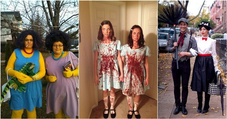 coming up with great ideas for halloween costumes can be hard but that doesnt mean it has to be twice as difficult to come up with a costume for two - Clever Original Halloween Costumes