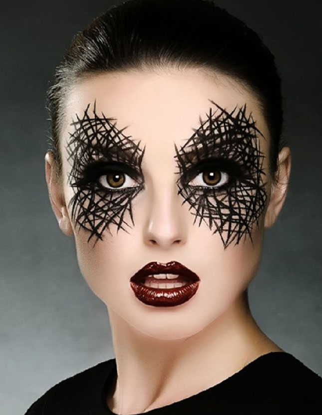 Photo via:  http://www.brit.co/halloween-makeup-looks/