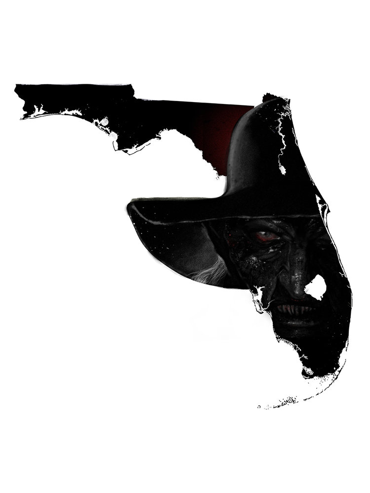 "Inspired by the horror film ""Jeepers Creepers"" set in Florida."