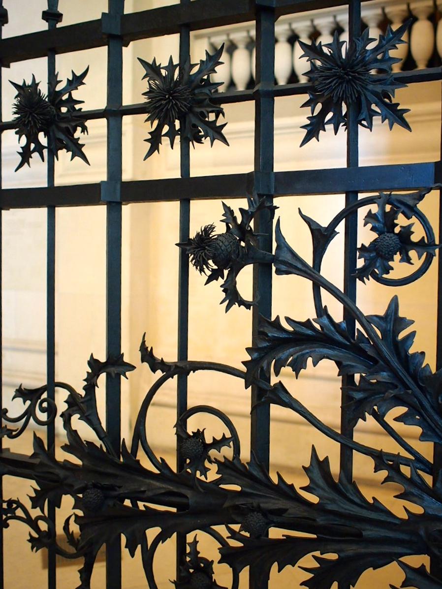 gate inside la Musée des Arts Décoratifs (Decorative Arts Museum), a must-visit