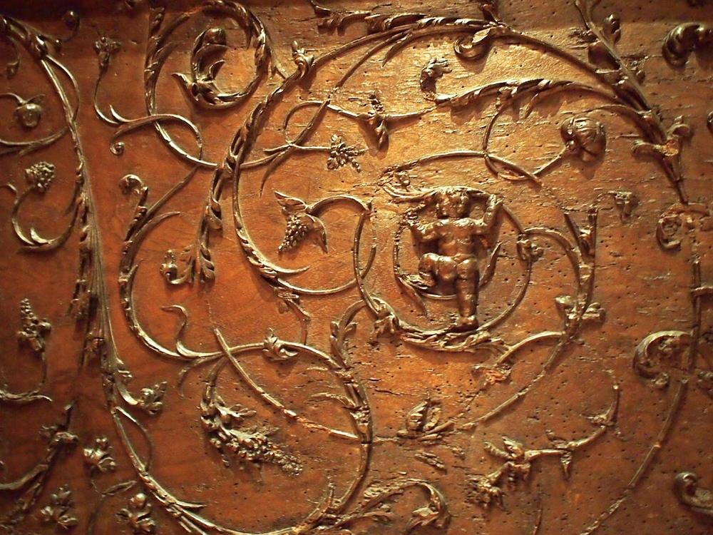 a wall detail, la Musée des Arts Décoratifs