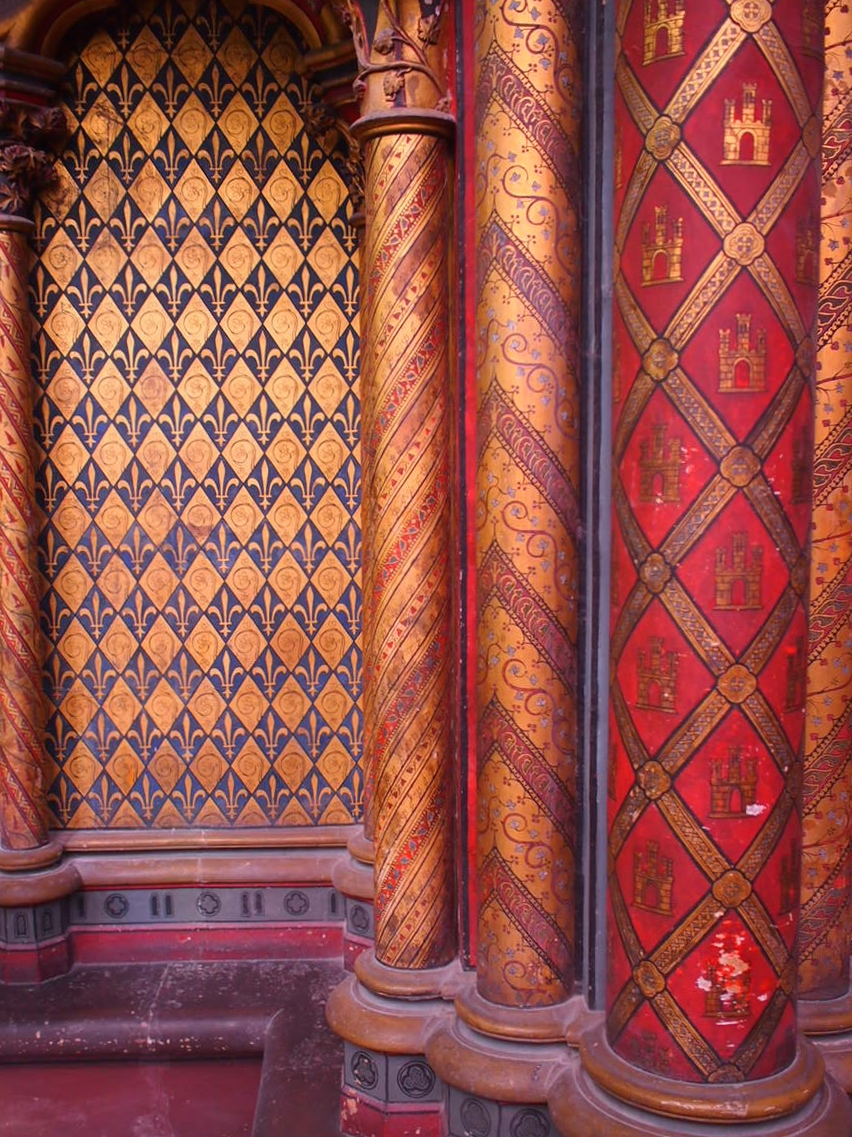 wall, Saint-Chappelle
