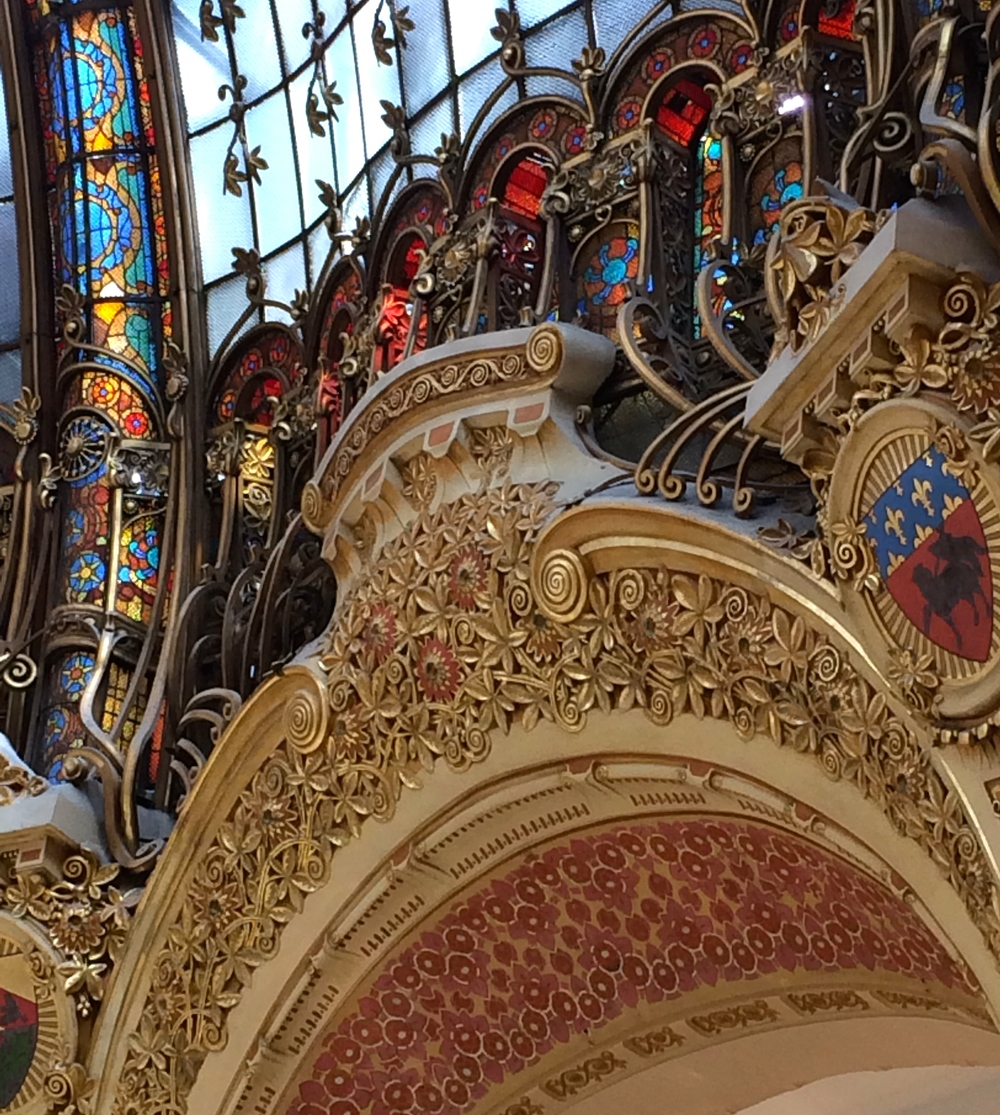 arches within arches, Galeries Lafayette