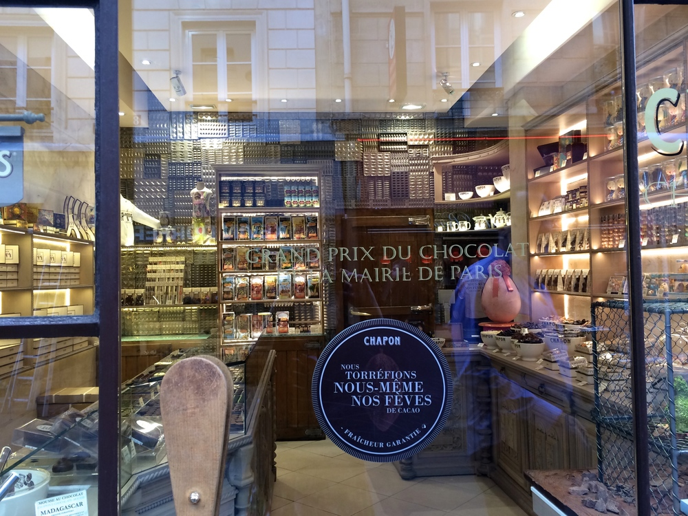 Paris, I will miss your frequent chocolate shops and the fantastic presentation in shops in general. Rue du Bac, Saint-Germain-des-Prés