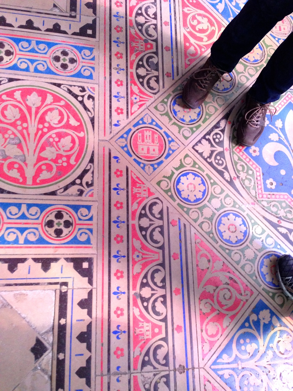 floor, Sainte-Chappelle