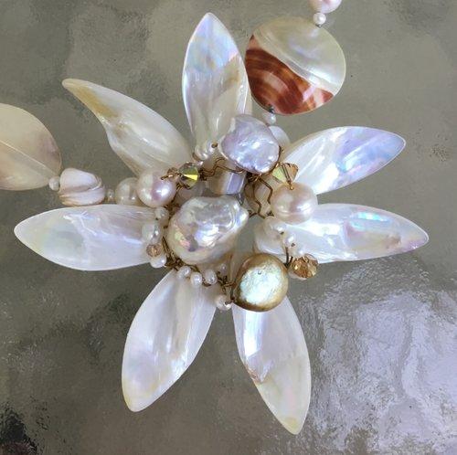 Flower lei quincie hambyart jewelry by quincie hamby flower lei mightylinksfo