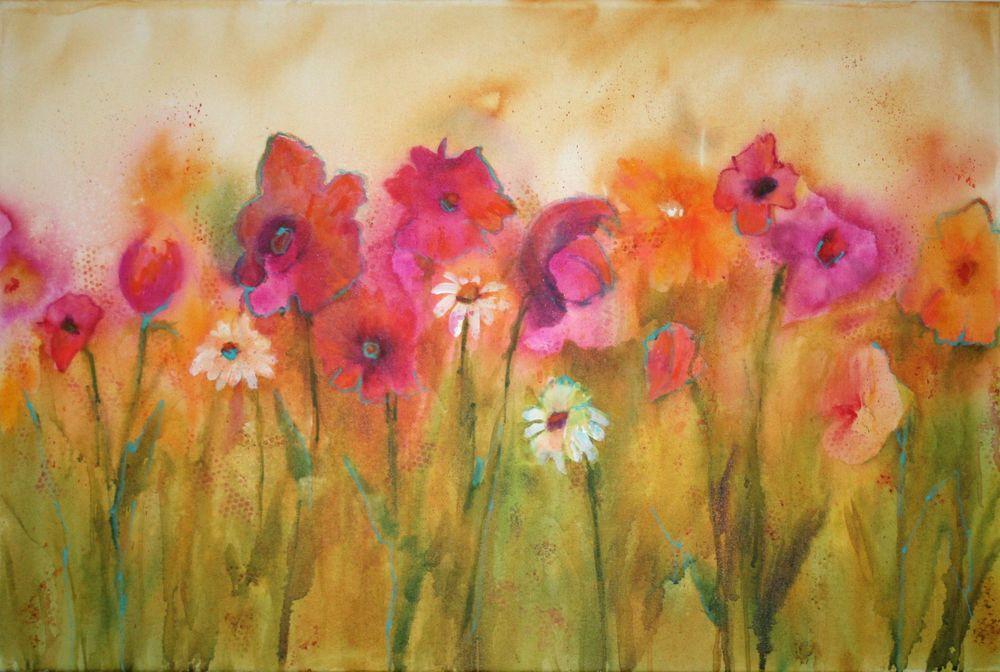 Impressionistic Spring Blossoms