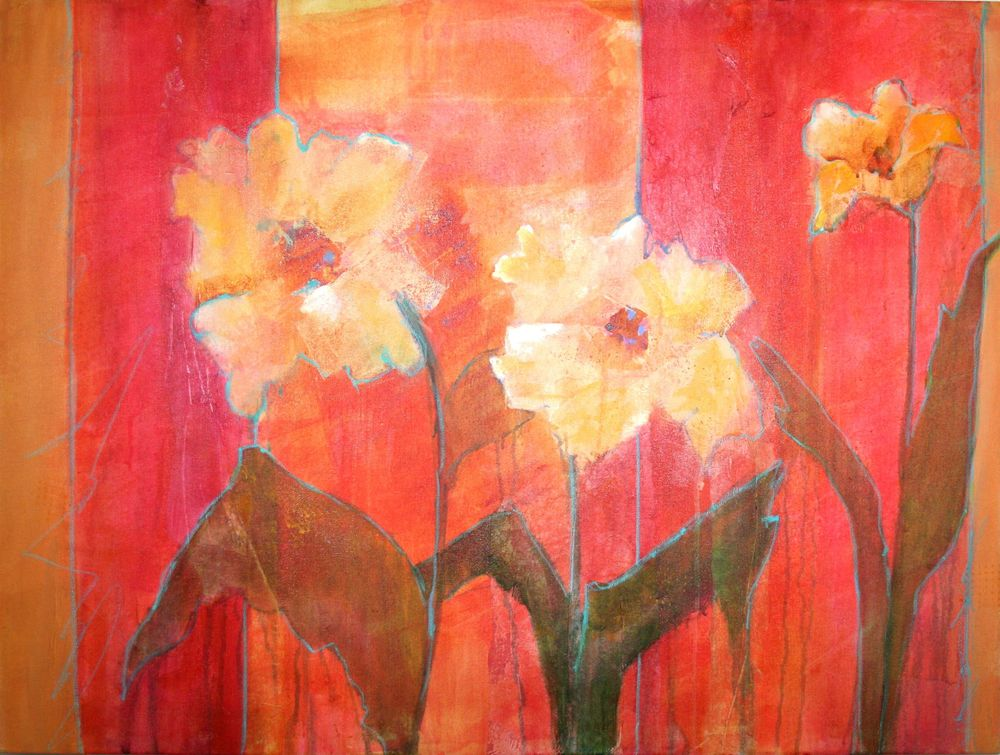 Impressionistic Wild Flowers