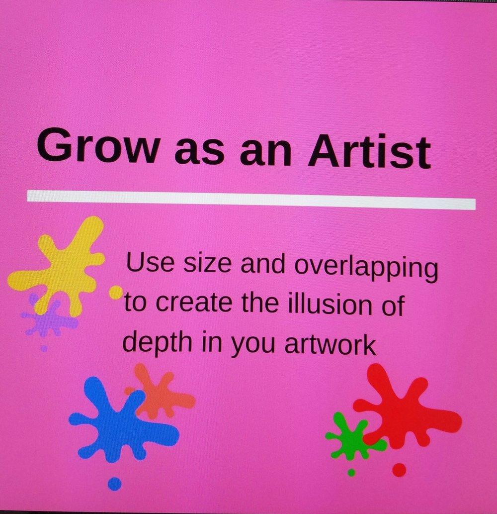 Grow as an Artist