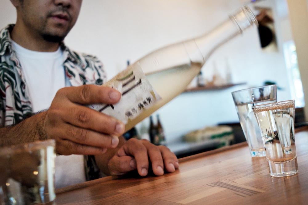 Kanpai! (cheers)