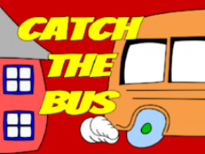 """Catch The Bus"" is designed for K-5 students. In this game, students will need to solve the puzzles and riddles to catch their bus! It is recommended that 3-5 students collaborate in small groups, while K-2 play as a whole class. Reading comprehension and place value concepts are involved."