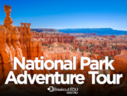 In this middle school and up game celebrating the centennial of the United States National Park service, you'll have to navigate the clues to save your class trip! Content includes order of operations and reading comprehension.