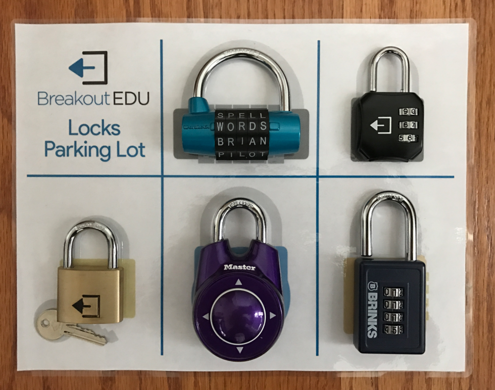 Escape Room Directional Locks