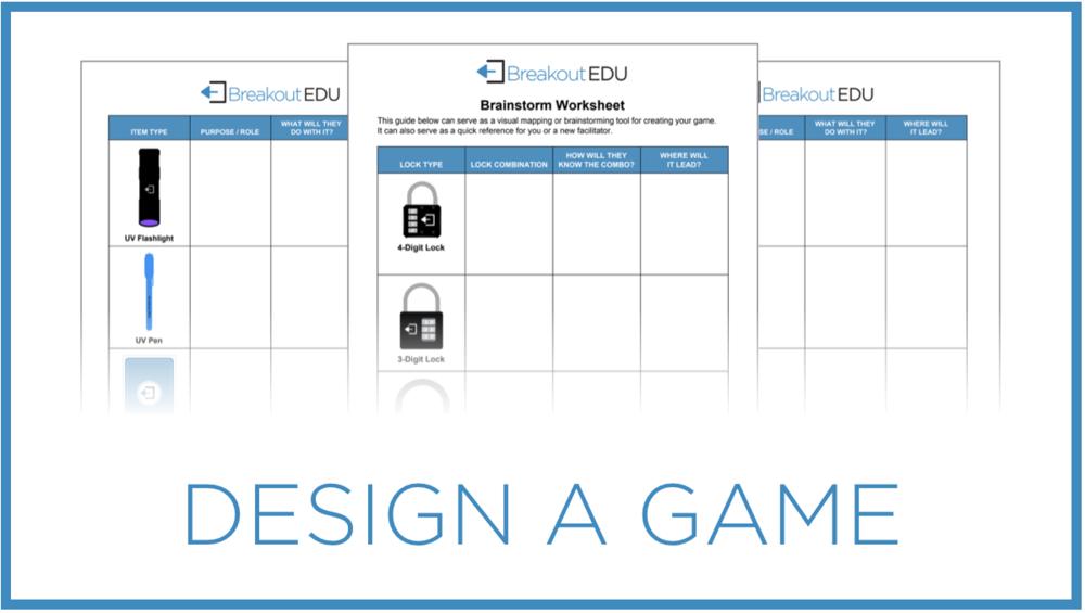 Design A Game Breakout Edu
