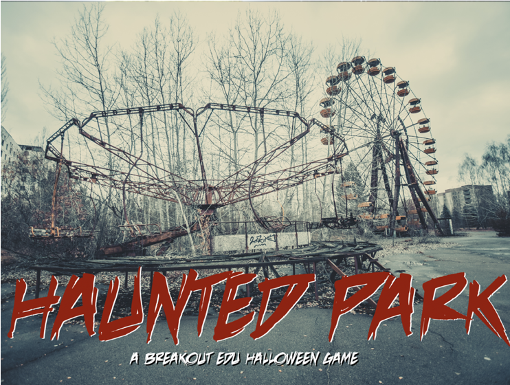 Haunted Park   You have entered the Park only to find that it is not just creepy, but haunted as well. Once you step inside, the only way out is to work your way through the rides, graveyard and other puzzles to get to the exit and Breakout of the Haunted Park.    LEARN MORE