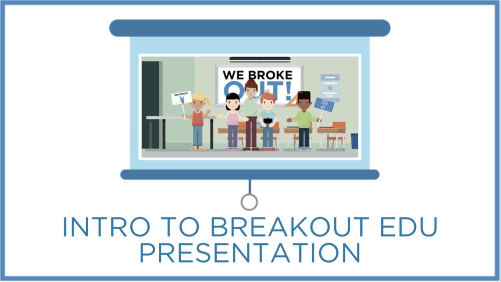 Use this presentation to help facilitate your next Breakout EDU game. This is a great intro to Breakout EDU and includes some tips for players to follow in order to be successful.