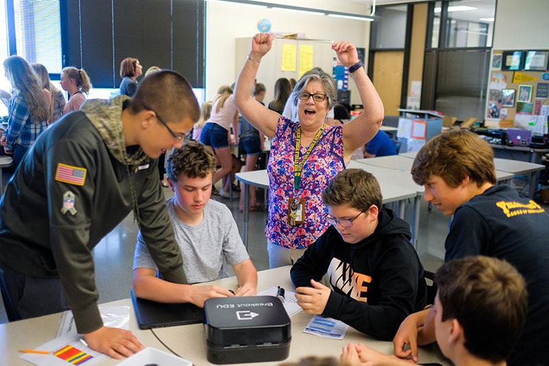 Katy Lefler, Middle School Science, Billings, MT