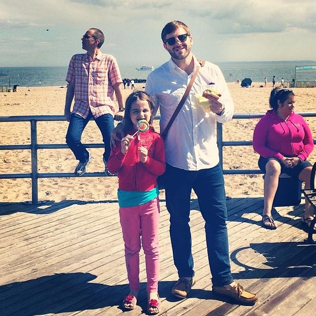 Coney Island pros. #daddydaughterdate #locals #nyc