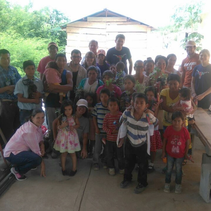 Sustainable Agriculture Workshop at Hermana Edna's Malnutrition Clinic in El Progreso.