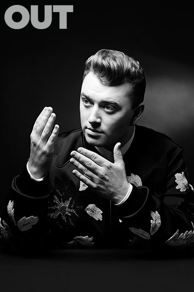 SAM SMITH IN OUT100 MAGAZINE