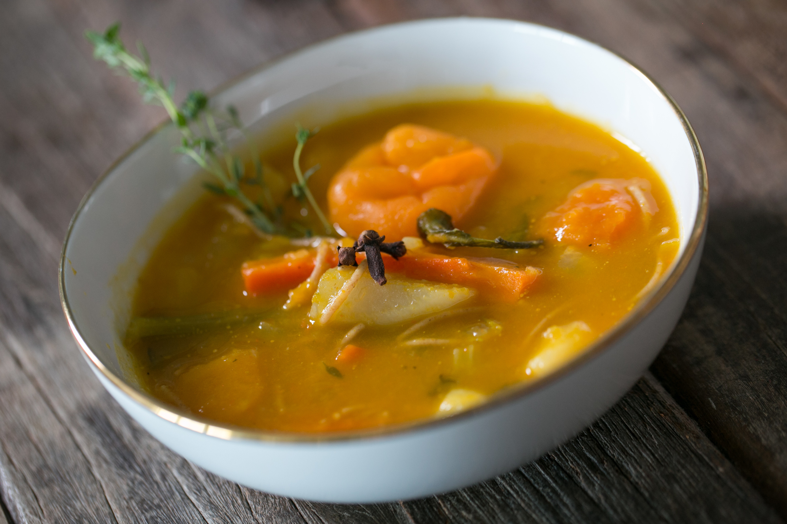 Soup Joumou With A Vegetarian Twist The Spice Detective