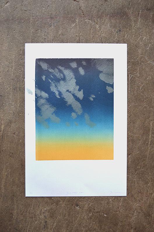Joshua Tree Topographical Print
