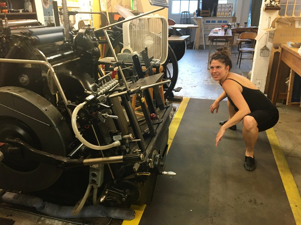 Alexa Eisner takes a closer look at the 1952 Heidelberg Windmill
