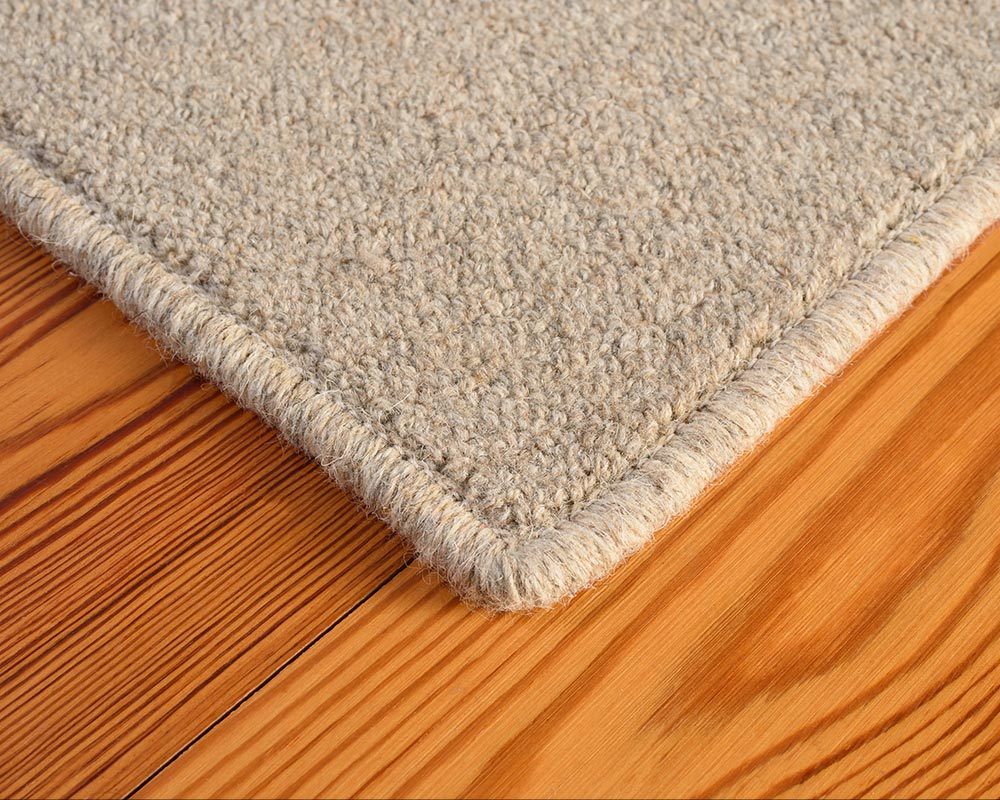 Area Rug Edge | Rainer Bio-Floor™ Carpet in Granite