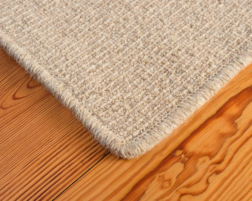 Area Rug Edge | Pyrenees Bio-Floor™ Carpet in Wheat