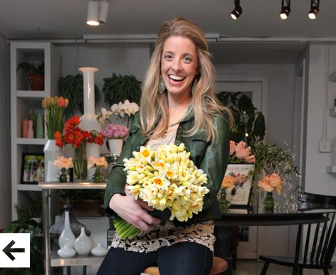 Andrea Halliday, Owner of Table & Tulip