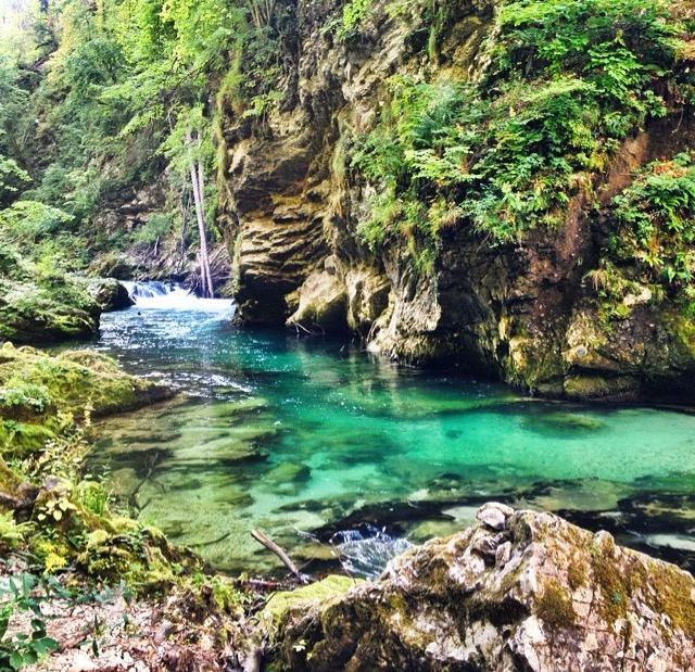 Vintgar Gorge, Slovenia; Photo By Jen Murphy, @jengoesafar