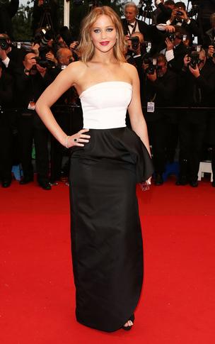 Jennifer Lawrence: Classic Black-Tie