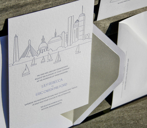 Smude Ink's 'Charles' Invite