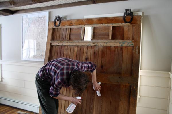 I Love Lamp How To Hang A Barn Door Casey Scieszka