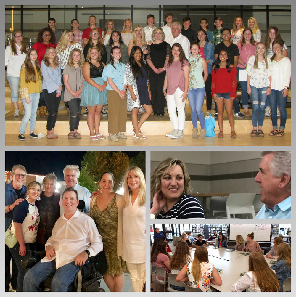 The Louis Zamperini Foundation visits Granbury Texas to witness The Unbroken Curriculum in the classroom.