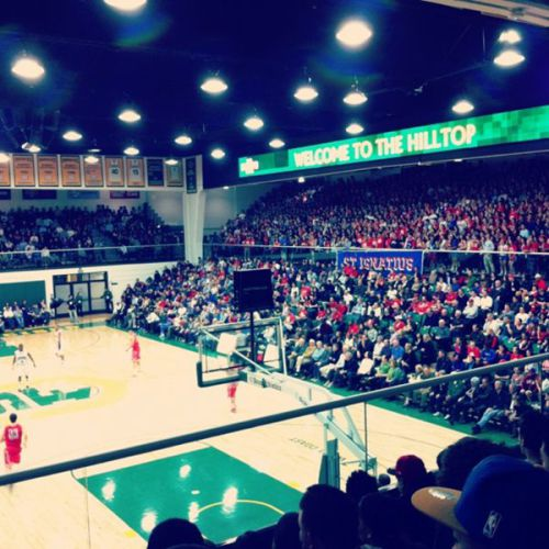 Many would argue Gonzaga at USF doesn't get this full… (Photo by @ConnorBuestad via Instagram)