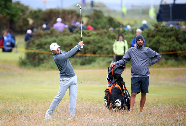 "21-year-old Jordan Spieth will tackle ""The Old Course"" in Saint Andrews this weekend in his quest to capture the Grand Slam. (photo by Matthew Lewis)"