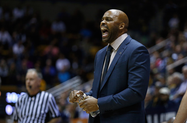 Cuonzo Martin is in his second season in Berkeley after finding success at both Missouri State and the University of Tennessee. (photo by Ezra Shaw)