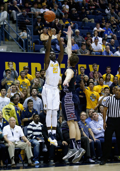Jabari Bird and the rest of the CAL Bears must connect from distance if they expect to beat fifth ranked UVA. (photo by Ezra Shaw)