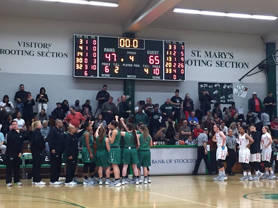 (Photo courtesy of Miramonte Girls Basketball)