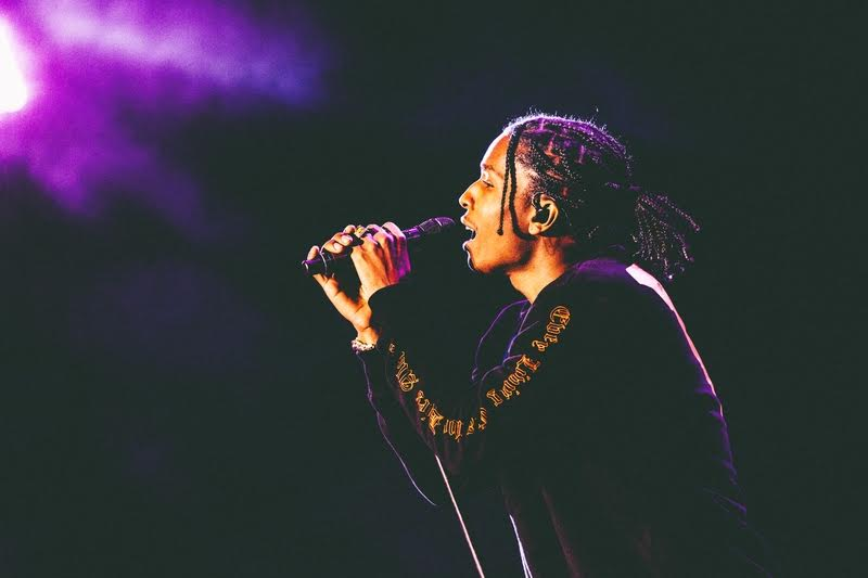 A$AP Rockey at Coachella (photo by Pooneh Ghana)