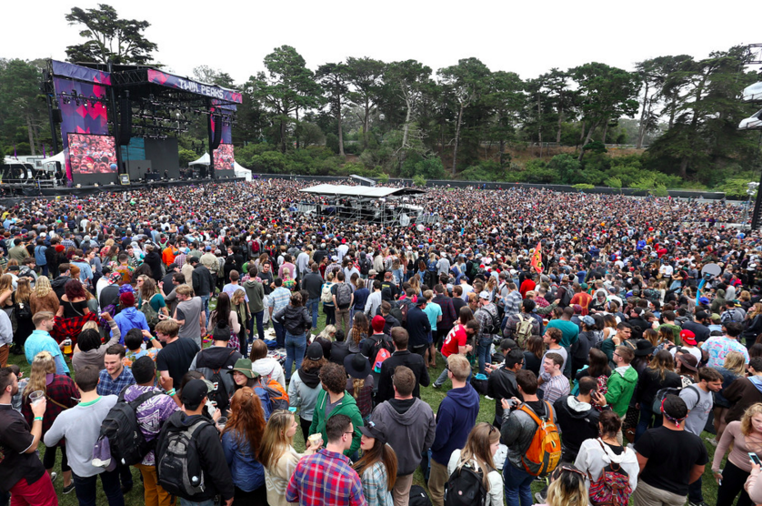 The scene above Golden Gate Park at OSL2016. (photo by Ray Chavez)