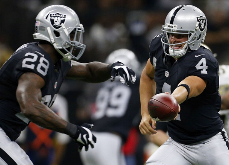 The Raiders edged the Saints by a point in a Week 1 triumph. (Photo by Jonathan Bachman)