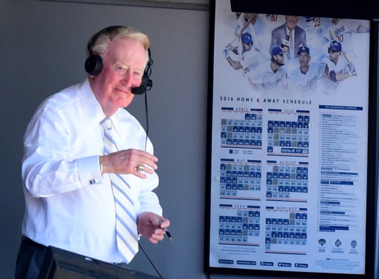 Vin giving thanks. (Photo by Harry How)