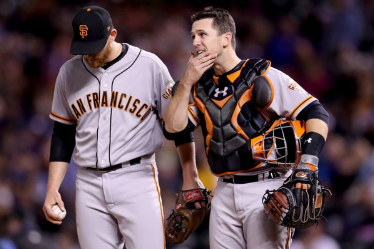 At the end of April, the Giants had the worst record in the National League (photo by Matthew Stockman)
