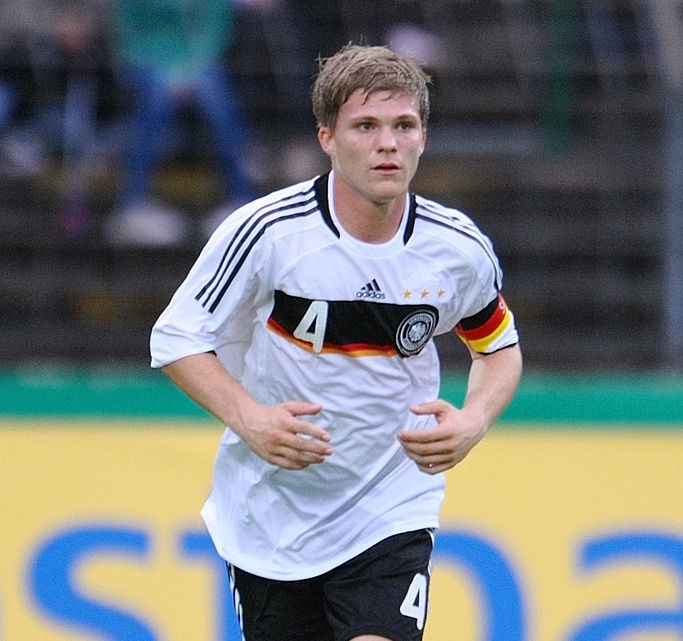 Florian wore the captain band for Germany's Under-20 Youth National Team (photo by Thomas Starke)