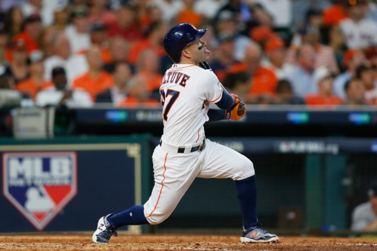 Five foot, six inch Jose Altuve is the best hitter on the planet. (Photo by Bob Levey)